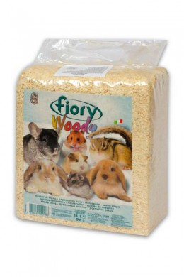 Опилки Fiory Woody для грызунов 14 л