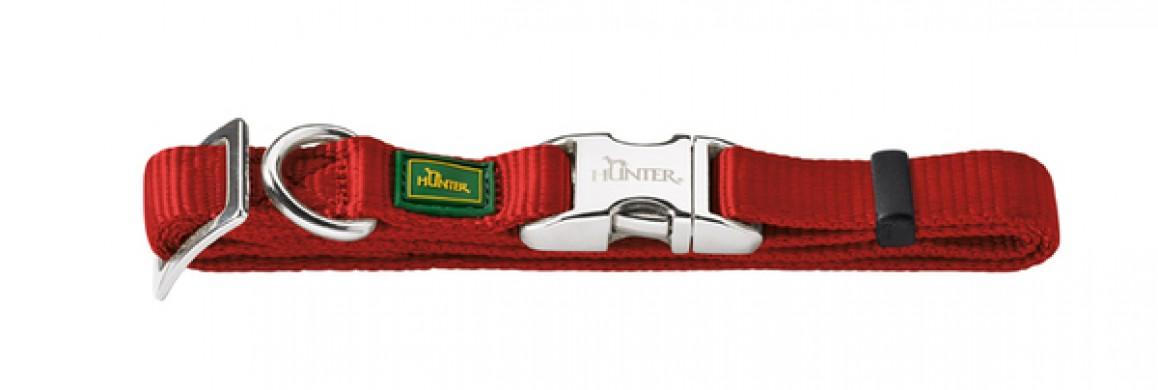 Ошейник для собак Hunter ALU-Strong L бордо (45-65 см)