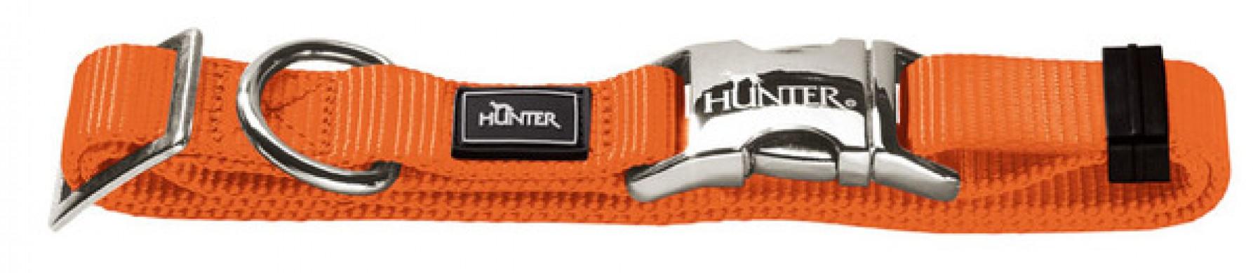 Ошейник для собак Hunter ALU-Strong L оранжевый (45-65 см)