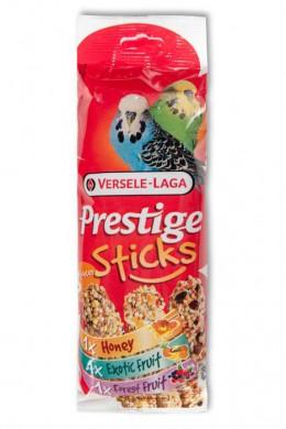 Палочки для волнистых попугаев Versele-Laga Prestige микс с медом, фруктами и ягодами 3х30 г