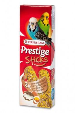 Палочки для волнистых попугаев Versele-Laga Prestige с яйцом и ракушечником 2х30 г