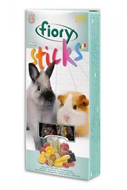Палочки Fiory Sticks для кроликов и морских свинок с фруктами 2х50 г