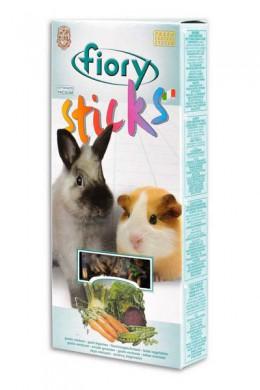 Палочки Fiory Sticks для кроликов и морских свинок с овощами 2х50 г