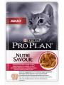 Пауч Pro Plan Adult для кошек с уткой (85гр*24шт)