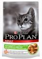 Пауч Pro Plan Adult для кошек с ягненком (85гр*24шт)