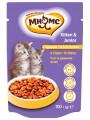 Паучи Мнямс Kitten Junior Chicken для котят с курицей в соусе (100 г)