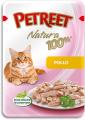 Паучи Petreet для кошек Курица (85 гр)