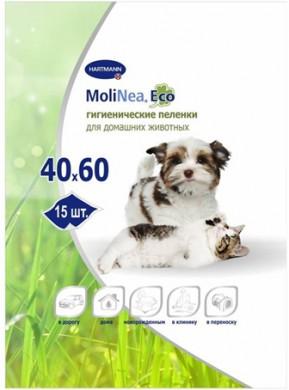 Пеленки впитывающие Hartmann MoliNea Eco 40x60 см (15 шт)