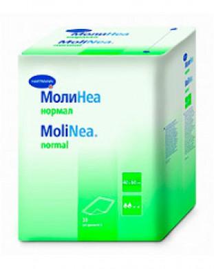 Пеленки впитывающие Hartmann MoliNea normal 40х60 см, 80 г/м2 (30 шт)