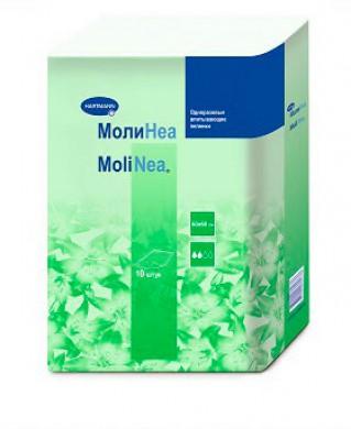 Пеленки впитывающие Hartmann MoliNea Plus 60х60 см, 130 г/м2, (10 шт)