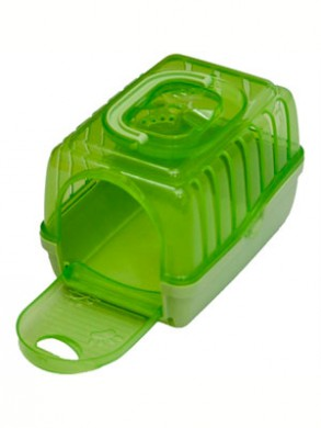"""Переноска для грызунов """"PAW-MINI"""", зеленая (14*10,5*10,5 см)"""