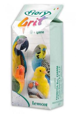 Песок для птиц Fiory Grit Lemon лимон 1 кг