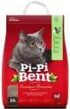 Комкующийся наполнитель Pi-Pi-Bent Сенсация свежести для кошачьего туалета (10кг)