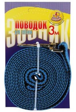 Поводок капроновый 20мм*3м, карабин