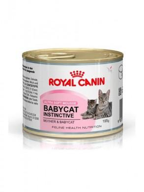 Мусс Royal Canin Babycat Instinctive 10 для котят до 4 месяцев  (195гр)