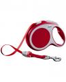 Рулетка Flexi VARIO L лента, красная (50 кг*8 м)