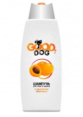 Шампунь для собак и щенков Гуд Дог с ароматом Абрикоса (250мл)