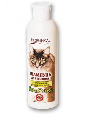 Шампунь инсектицидный Биовакс для кошек (210 мл)