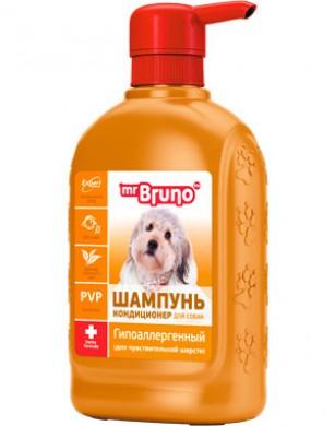 Шампунь-кондиционер гипоаллергенный Mr.Bruno для собак (350мл)