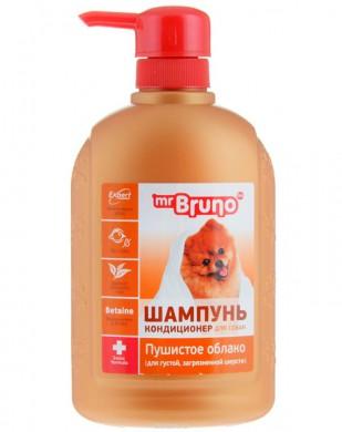 Шампунь-кондиционер Mr.Bruno Пушистое облако для собак (350мл)