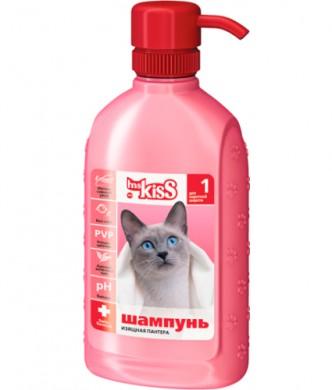 Шампунь Ms.Kiss Изящная пантера для кошек короткошерстных пород №1 , 200мл,