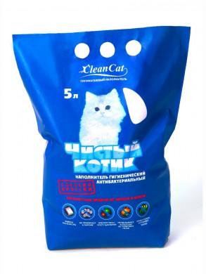 """Силикагелевый наполнитель """"Чистый котик"""" (3,5 л)"""