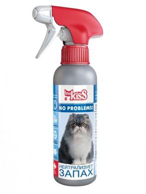 Спрей M.KISS No problems Нейтрализует запах для кошек (200мл)