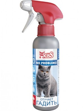 Спрей Ms.Kiss No Problems! Отучает гадить (200мл)