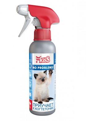 Спрей Ms.Kiss No Problems! Приучает к когтеточке (200мл)