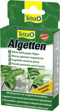Средство Tetra Algetten против водорослей 12 таб.
