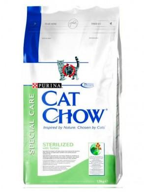 корм Cat Chow Special Care для стерилизованных кошек