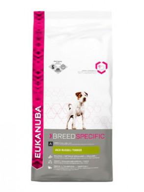 Сухой корм Eukanuba Adult Dry Dog Food For Jack Russell Terrier Chicken для собак породы джек-рассел-терьер