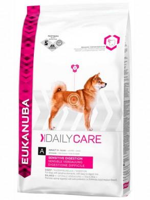 Сухой корм Eukanuba Sensitive Digestion для взрослых собак с чувствительным пищеварительным трактом