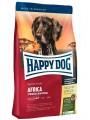 Сухой корм Happy Dog Supreme Sensible Africa с мясом страуса (12,5 кг )