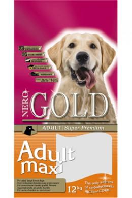 Сухой корм NERO GOLD super premium Adult Maxi 26/16 для крупных пород