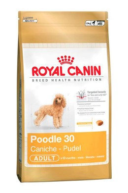 Сухой корм Royal Canin Poodle 30 Adult для собак породы Пудель старше 10 месяцев (1,5 кг)