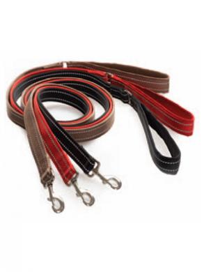 Светоотражающий многофункциональный поводок BF Gear reflect leash (30мм*190см)