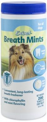 Таблетки для освежения дыхания у собак 8in1 Dental Breath Tabs с ментолом (200 таб.)