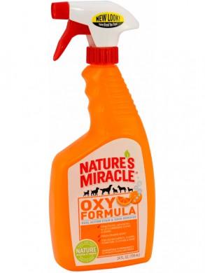 Уничтожитель пятен и запахов от собак 8in1 NM Orange-Oxy Formula спрей 710 мл