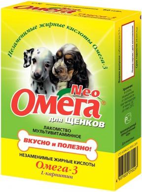 Витамины для щенков Омега Нео (60 таб.)