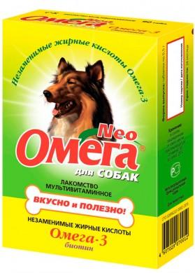Витамины для собак Омега Neo Биотин (90 таб.)