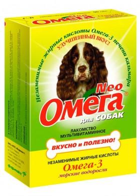 Витамины для собак Омега Neo Морские водоросли (60 таб.)
