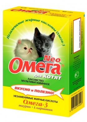 Витамины Омега для котят (120т)