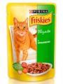 Влажный корм Friskies кролик в подливе (100гр)