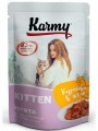 Влажный корм Karmy Kitten Курица в желе 80гр