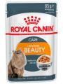 Влажный корм Royal Canin Intense Beauty для кошек, желе (85*12шт)