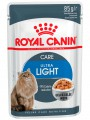 Влажный корм Royal Canin Ultra Light  для кошек, склонных к полноте в желе (85гр)