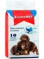 Впитывающие пеленки для животных EveryDay геливые 60 х 45 см (10 шт)