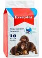 Впитывающие пеленки для животных EveryDay геливые 60 х 60 см (10 шт)