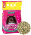 Впитывающий наполнитель Сибирская кошка Комфорт (20л)